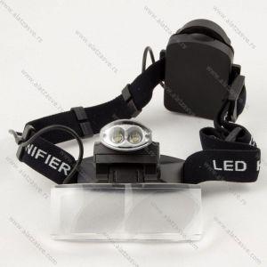 Lupa sa izmenljivim sočivima i LED svetlom