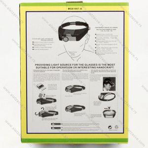 Lupa za glavu sa LED svetlom