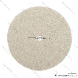 Filc za poliranje od prirodne vune 125mm