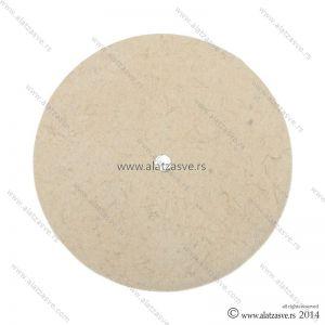 Filc za poliranje od prirodne vune 150mm