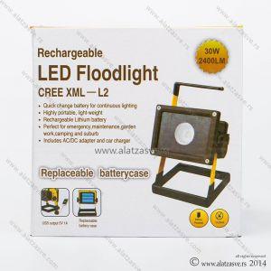 Punjivi CREE LED reflektor 30W