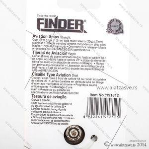 Makaze za lim 250mm ravne FINDER