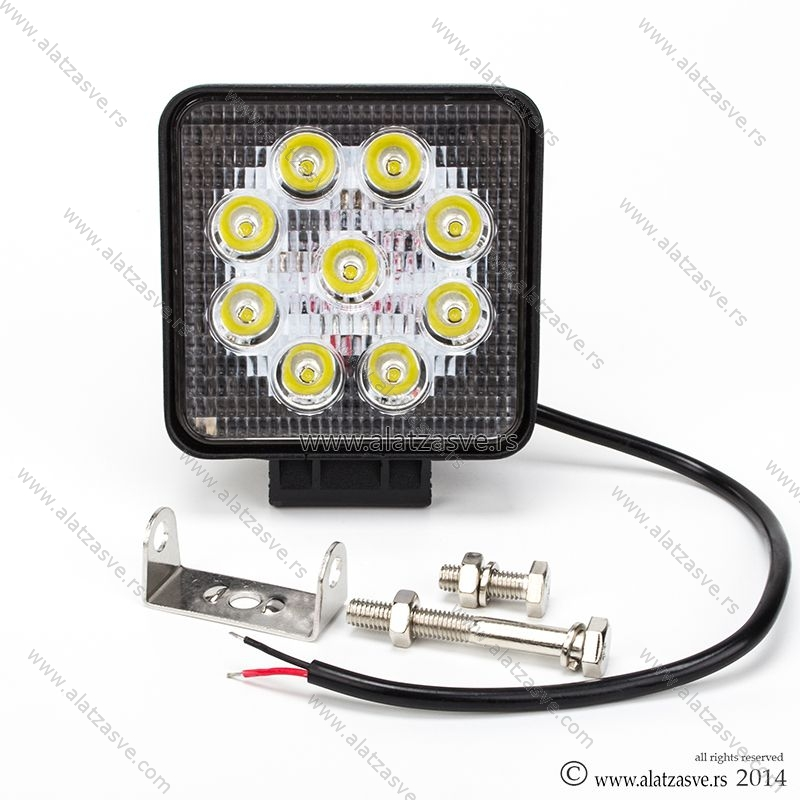 LED far maglenka reflektor 27W 12V