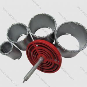 Set kruna za bušenje keramičkih pločica 33-73mm