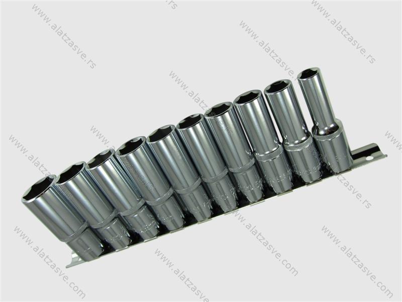 Set dubokih nasadnih ključeva 1/2. 10-24mm