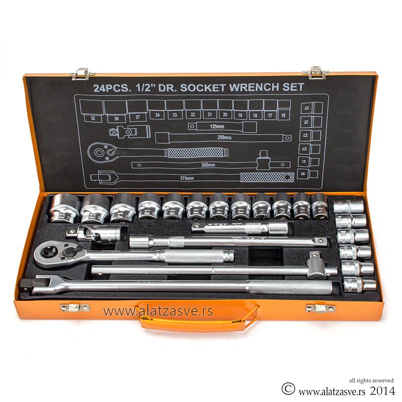 Set gedora 1/2 24 elemenata