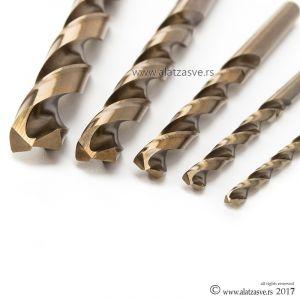 Set burgija 1-10mm HSS-Co sa 5% legure KOBALTA