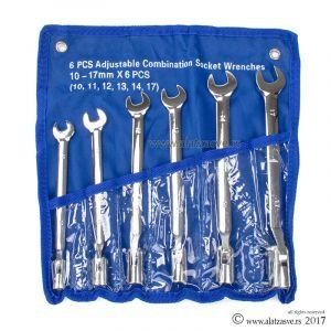 Set vilasto nasadnih ključeva 10-17mm