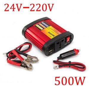 Inverter pretvarač napona 24V na 220V 500W