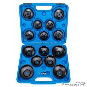 Set alata za skidanje uljnih filtera 15 kom