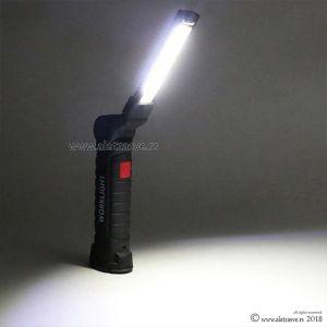 Punjiva LED radna lampa sa magnetom
