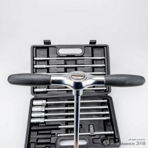 Set T ključeva 8-19mm sa krckalicom